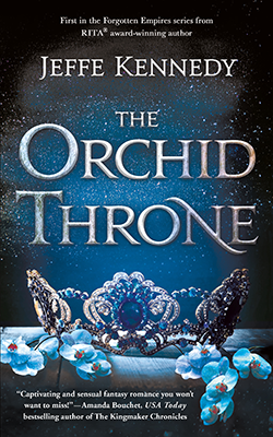 The Orchid Throne book cover image