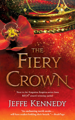 The Fiery Crown book cover image