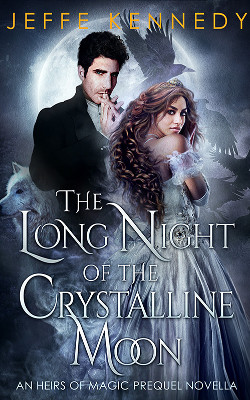 The Long Night of the Crystalline Moon book cover image
