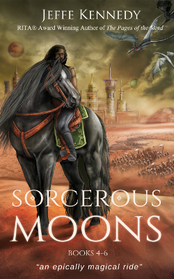 Sorcerous Moons: Books 4-6 book cover image